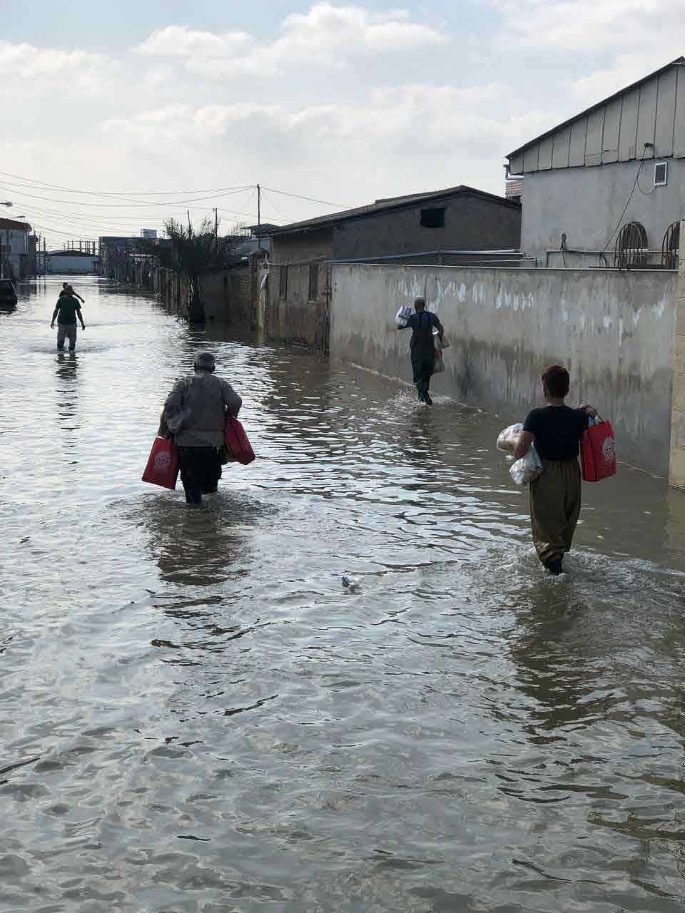 اشتغال زایی در مناطق سیل زده